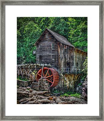 Grist Mill Framed Print by Dan Stone