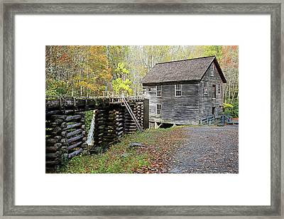 Grist Mill Framed Print by Lamarre Labadie