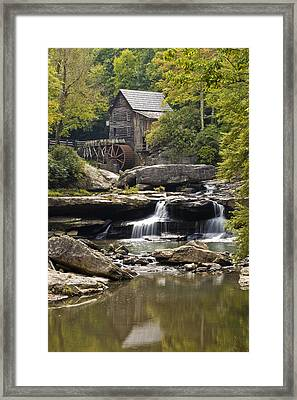 Grist Mill No. 1 Framed Print by Harry H Hicklin