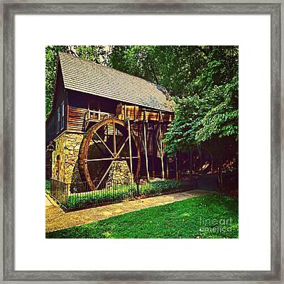 Gristmill - Charlottesville Virginia Framed Print by Judy Palkimas