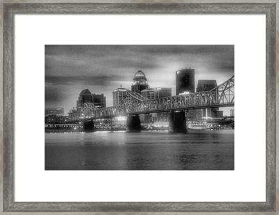 Gritty City Framed Print