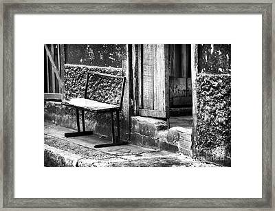Gritty Panama Framed Print by John Rizzuto