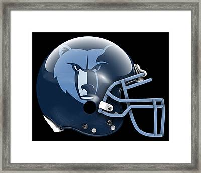 Grizzlies What If Its Football Framed Print by Joe Hamilton