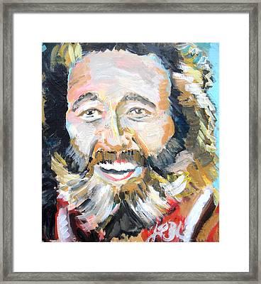Grizzly Adams  Framed Print by Jon Baldwin  Art
