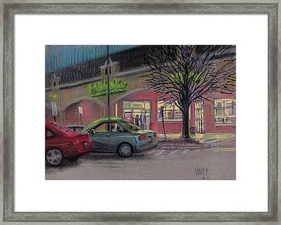 Grocery Shopping Framed Print by Donald Maier
