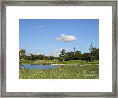 Groendael Golf The Netherlands Framed Print by Jan Daniels