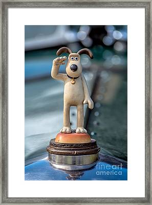 Gromit Framed Print by Adrian Evans
