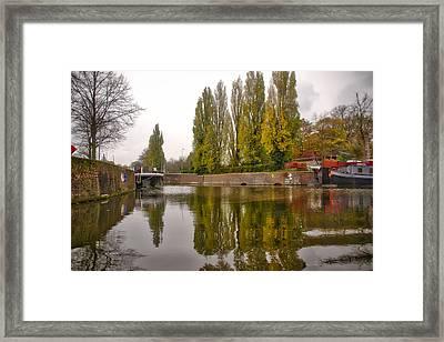 Groningen Canal Framed Print