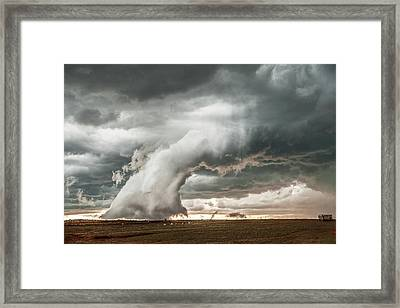 Groom Storm Framed Print