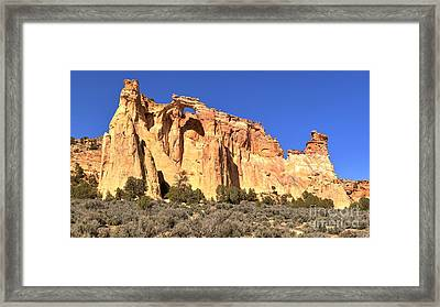 Groscenor Double Arch Panorama Framed Print