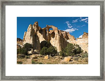 Grosvenor Arch Framed Print by James Marvin Phelps