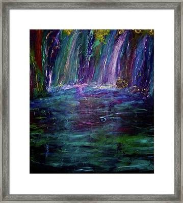 Grotto Framed Print