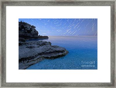 Grotto Magic Framed Print by Gordon Wood