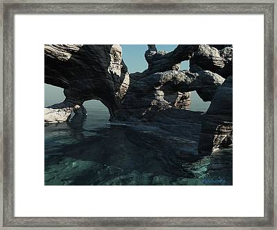 Grotto Framed Print by Williem McWhorter