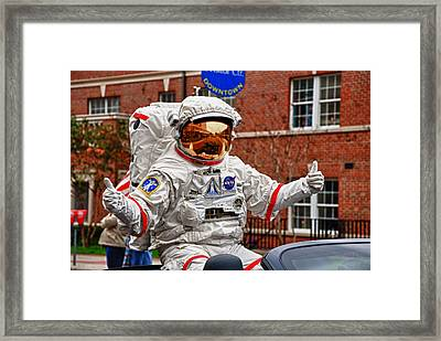 Ground Control To Major John Framed Print by Frank Feliciano