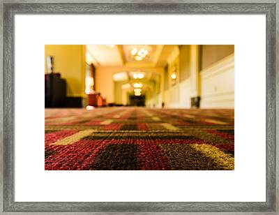Ground Level Framed Print