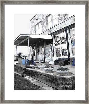 Ground Zero Framed Print by Lizi Beard-Ward