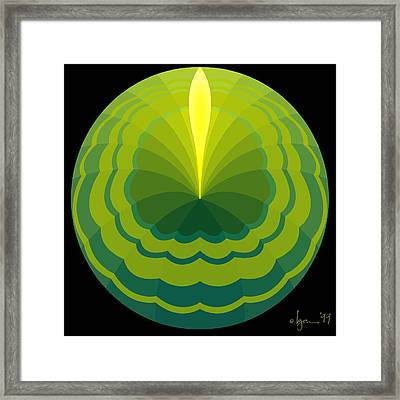 Grounded Framed Print by Angela Treat Lyon