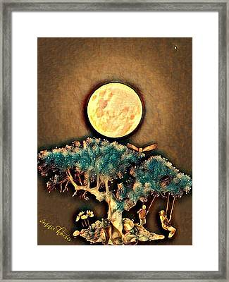 Grounding Framed Print