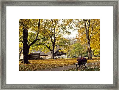 Grounds Of The Hermitage In Tennessee Framed Print
