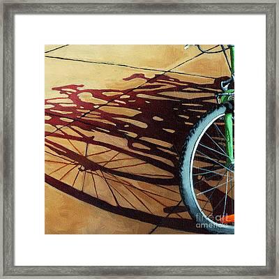 Group Hug - Bicycle Art Framed Print
