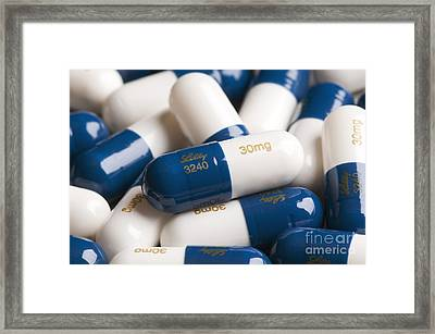 Group Of Cymbalta Capsules Framed Print