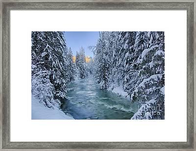 Grouse Creek 2 Framed Print