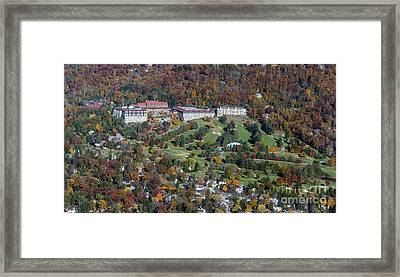 Omni Grove Park Inn Framed Print by David Oppenheimer