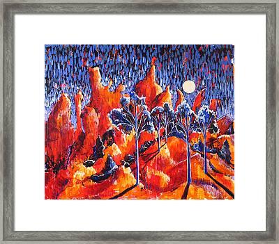 Grove Framed Print by Rollin Kocsis