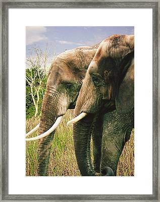 Grow Old With Me Framed Print