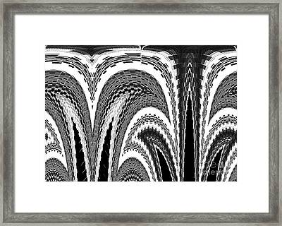 Grow Where You Are Planted				 Framed Print by Ann Johndro-Collins