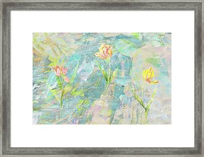 Grow With The Flow Framed Print