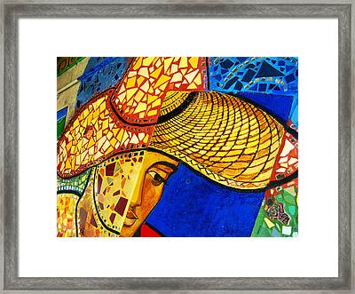 Growing Edgewater Mosaic Framed Print