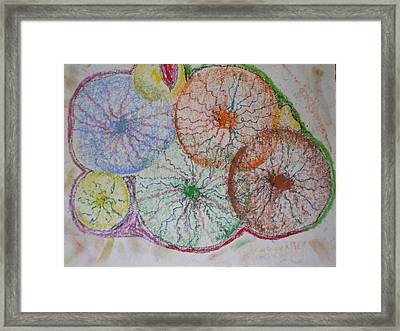 Growing Emotions Framed Print by Sam Persons