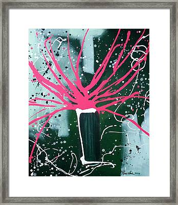 Growing In The City Framed Print by Pearlie Taylor