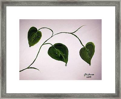 Growing Like Crazy Framed Print by Georgie McNeese