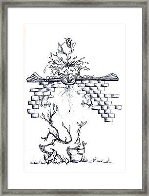 Growing Nowhere Framed Print