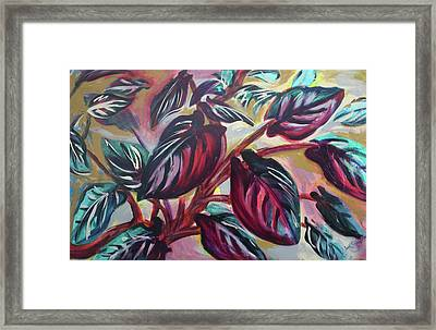 Growing Pains Framed Print