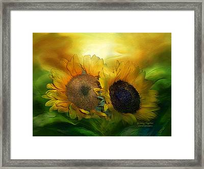 Growing Together Framed Print