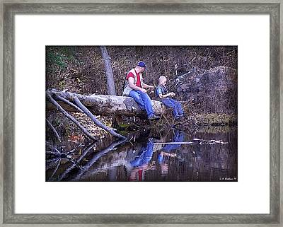 Growing Up Framed Print