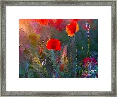 Growing Wild Framed Print