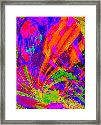 Growing Wild Framed Print by Loko Suederdiek