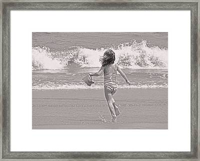 Growing Young Framed Print by JAMART Photography