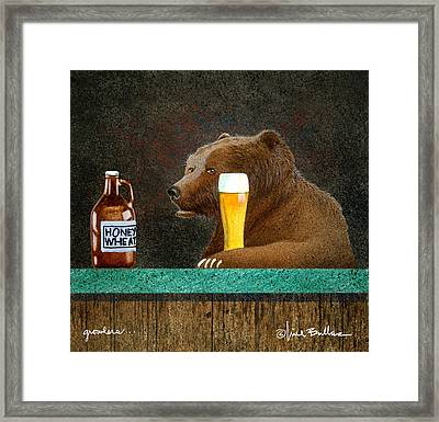 Growlers Framed Print by Will Bullas