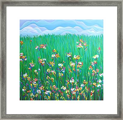 Grown To Distraction Framed Print