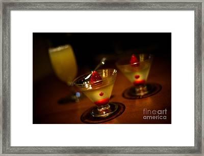 Grown-up Jello Framed Print by Venetta Archer