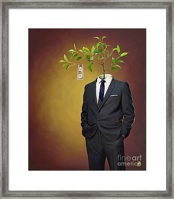 Growth Framed Print by Rob Snow