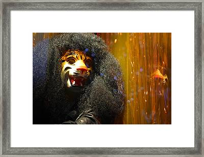 Grrr Framed Print by Jez C Self