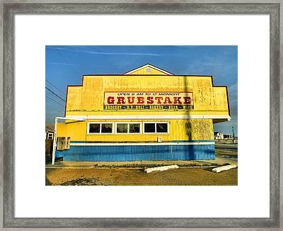 Grubstake Framed Print by Steven Ainsworth