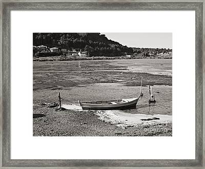 Framed Print featuring the photograph Gruissan  by Cendrine Marrouat